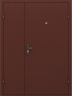 Входная дверь Двустворчатая