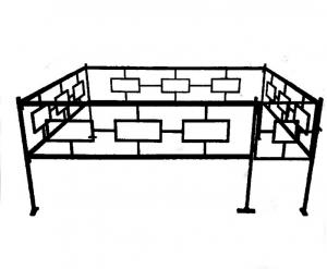 Оградка №13