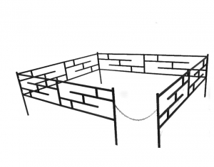 Оградка №5